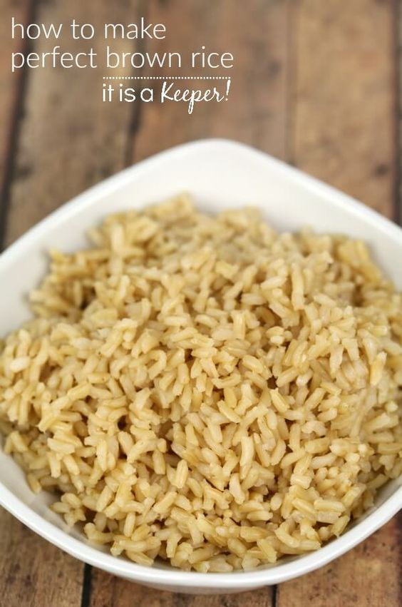 How to Make Perfect Brown Rice – This is my fool proof method for making perfect brown rice on the stove top