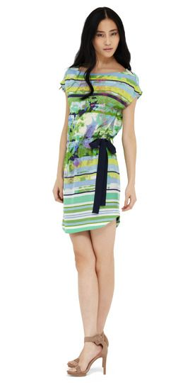 One of our favorite styles in a brand new striped/floral combo- LOVE