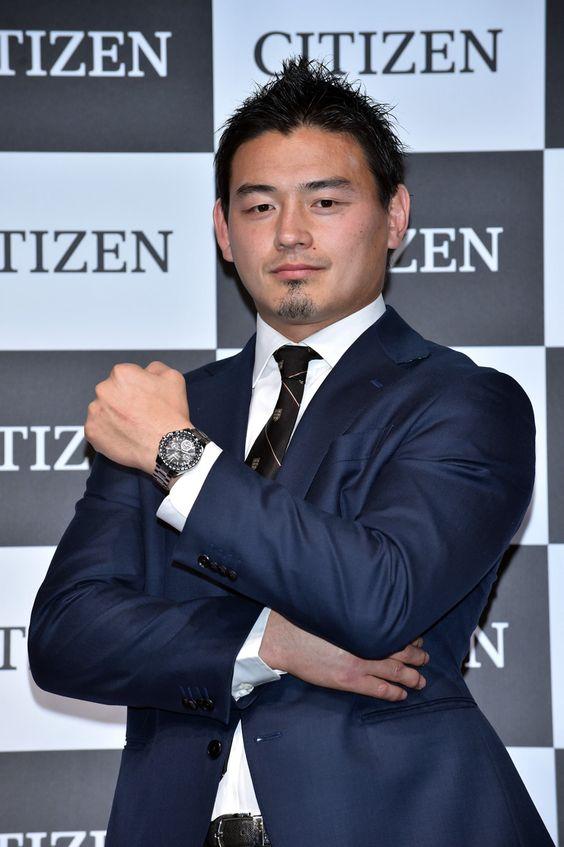いつも腕時計を身につけているという五郎丸歩選手