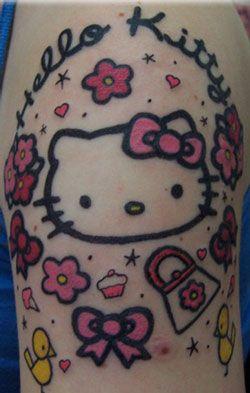 Hello Kitty #tattoo