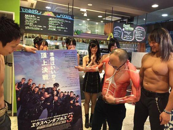 """新日本プロレス大作戦DXさんはTwitterを使っています: """"本日23:30からの大作戦DXは「逸材センパイから学べ!大作戦」の後編をお送りします!筋肉大好き人間は必見です‼︎ #njpw #samuraitv @tanahashi1_100 @njpwyohei_k http://t.co/q1mvaRRik2"""""""