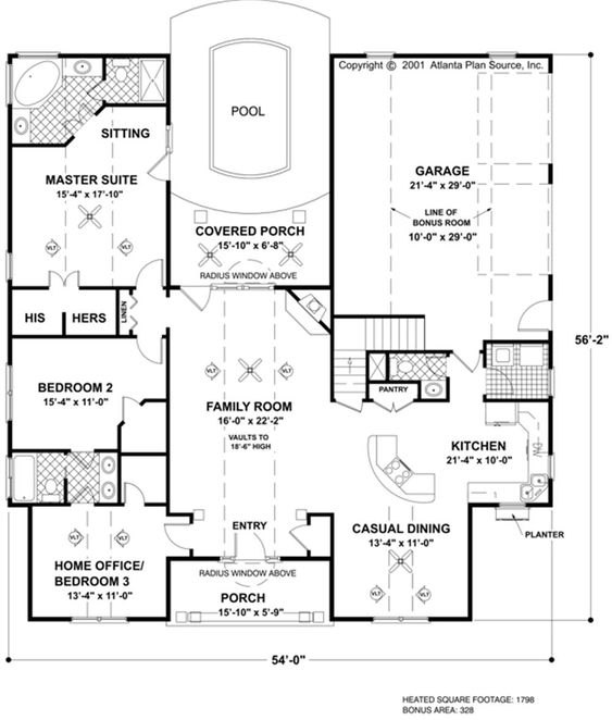 House plans safe room and outdoor living on pinterest Outdoor living floor plans