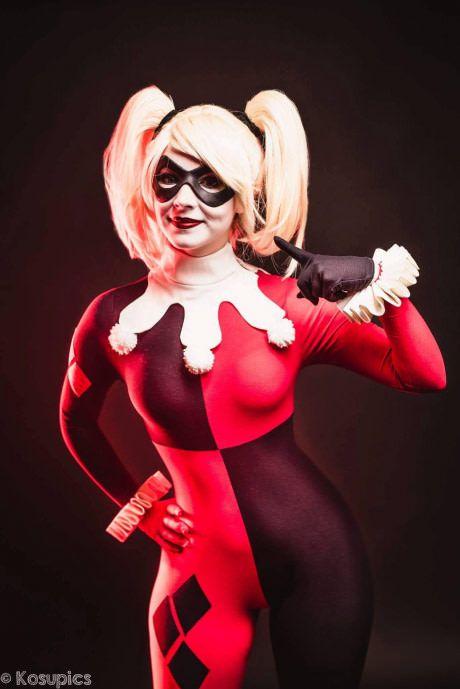 Enji Night as Harley Quinn