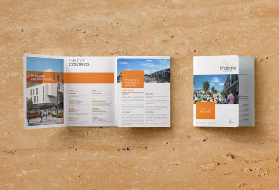 Brochure created for Mowana Properties, for Tlhabane Square