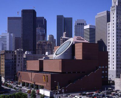 MoMA Building, San Francisco by Mario Botta