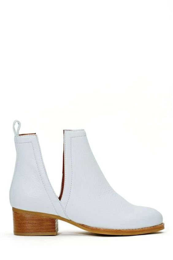 Jeffrey Campbell Oriley Ankle Boot - White