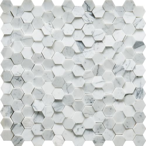 Seismic wall mosaic from Artistic Tile