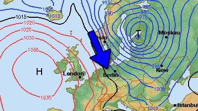 14-Tage-Wetter Deutschland - Wettertrend Wetterbericht - WetterOnline Dienstag, 11.03.2014 Nordwind bringt kalte Luft Wettersturz am Wochenende  Das Frühlingswetter mit viel Sonne und bis zu 20 Grad wird am Wochenende von einem Wettersturz beendet. Ein kräftiger Nordwestwind bringt deutlich kältere Luft, auch Graupel und Schnee sind möglich.