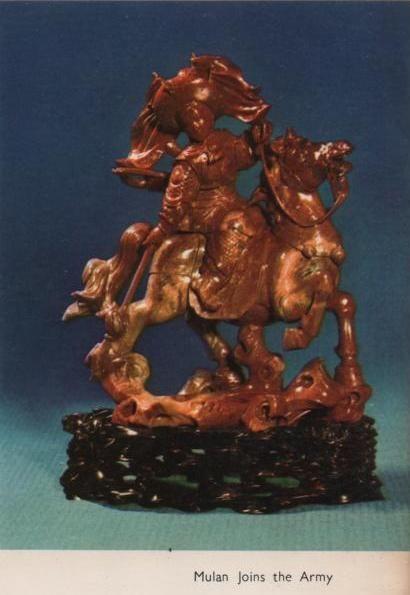 Mulan en su caballo
