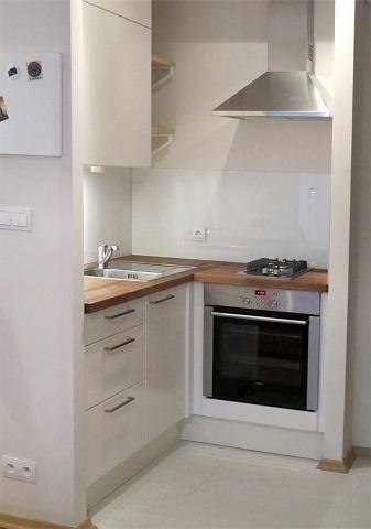 #tinykitchen #To #mieszkanie #wymagało  To mieszkanie wymagało remontu, a jego mała powierzchnia tego nie ułatwiała. Zobaczcie jak przebiegała metamorfoza.