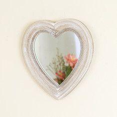 Decorative Heart Shaped Wall Mirror