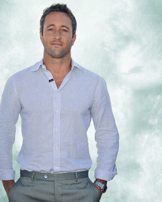 Question: How are you different from Steve McGarrett? Alex: Well, I tend to move like him and look like him. And I can take a beating fairly well. (Laughs). But I'm much more sensitive than him. So…