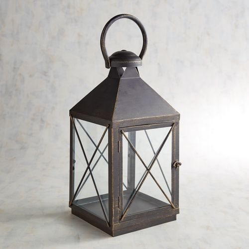 Bennett Medium Black Metal Lantern Metal Lanterns Lanterns Iron Lanterns