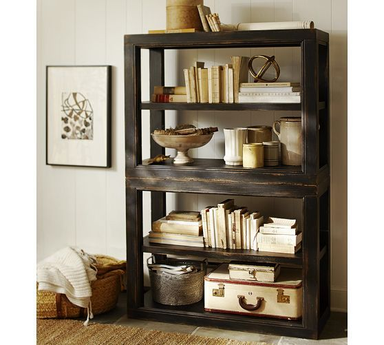 Dawson Bookcase Pottery Barn For The Home Pinterest