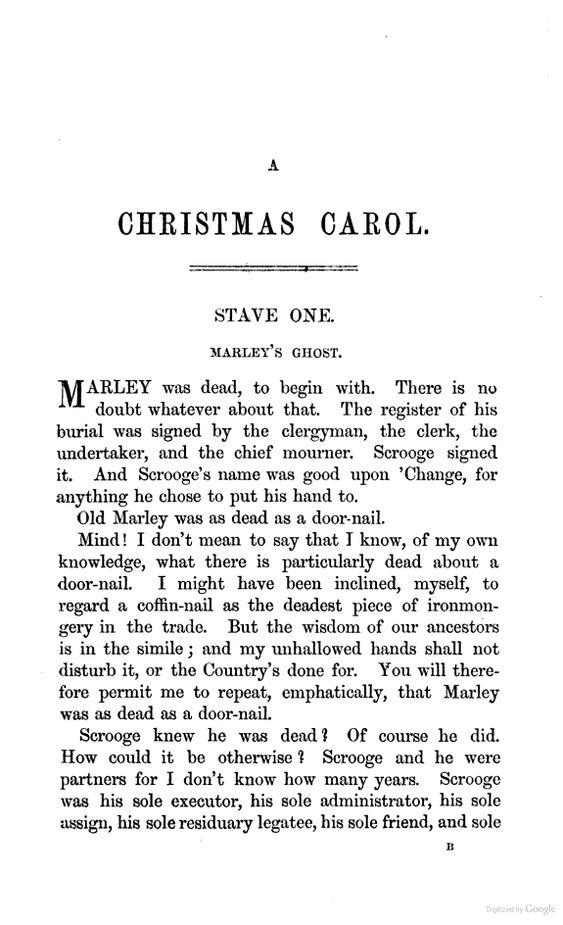 A Christmas Carol Free Audiobook