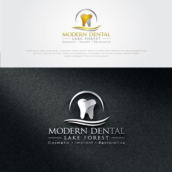 Design A Luxurious Sleek And Sophisticated Logo For A Chic And Modern Dental Office By Athletic Design Dental Logo Dental Design Dental Logo Design