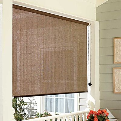 Roll up solar shades sun tampa bay area and screens - Exterior sun blocking window shades ...