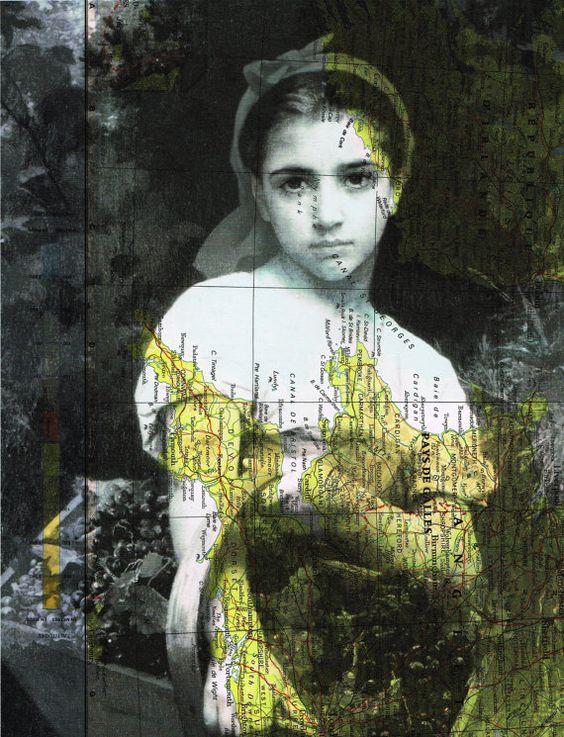 Young Girl.classic beauté. par JackieBassettArt sur Etsy
