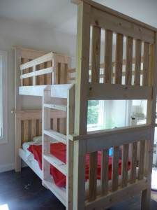 The Homestead Survival | Homemade Bunk Beds � Build in a Weekend Project | http://thehomesteadsurvival.com