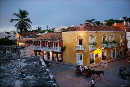 Restaurant La Vitrola. Cartagena.