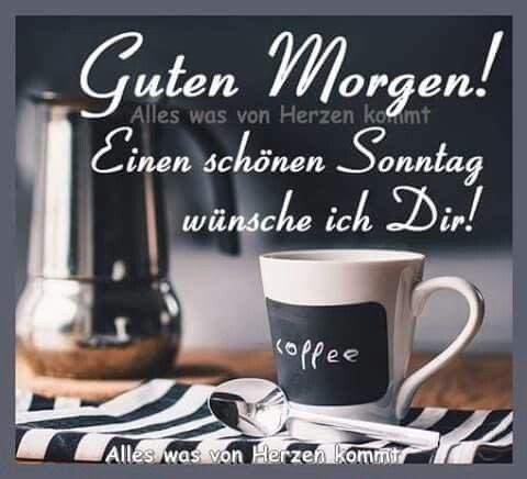 Hallo Und Guten Morgen Ich Wünsche Einen Schönen