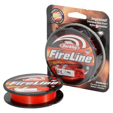 Berkley Berkley Fireline - Rot Angelschnur rot