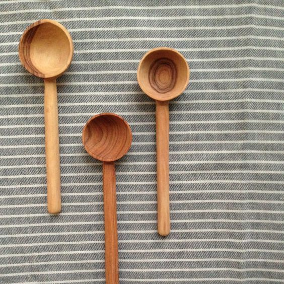 Wild Olive Wood Coffee Scoop | Territory: Global Craft Collective