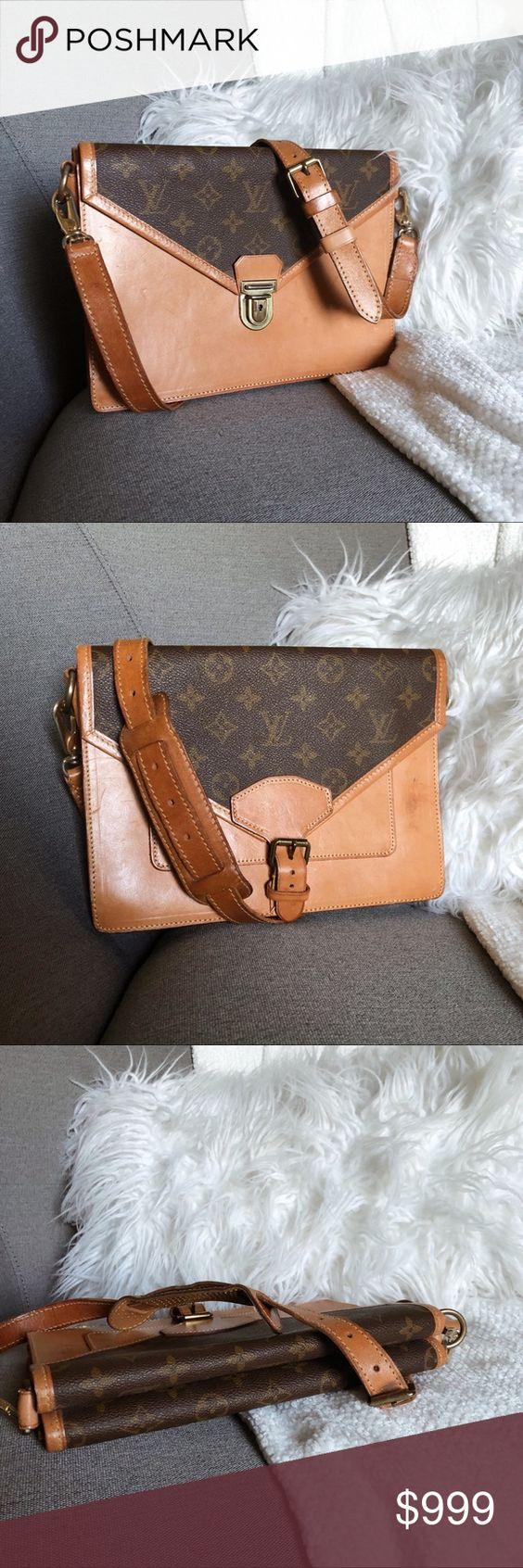 Louis Vuitton Vintage Envelope Sac Biface Bag Bags Vintage Louis Vuitton Vuitton