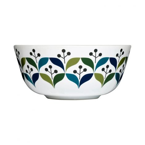 Retro breakfast bowl  #kitchen #dining #BBQ #food #black #green #blue #elegant #Decor #shopping #furniture #homeware #picnic #kerros #casserole  #bamboo  #squeezer #bottle #grill #plate #pot #mug