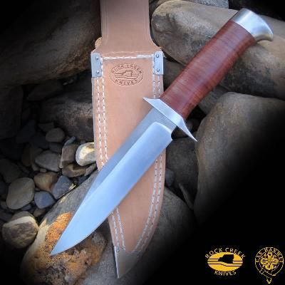 "Cas-Hanwei ""Oryx"" Fixed Blade Knife with Leather Sheath $80.00"