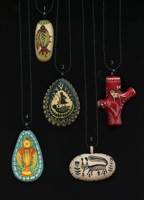 Five New Necklaces.   Flickr: Intercambio de fotos