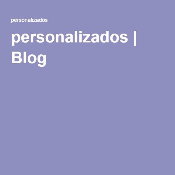personalizados | Blog