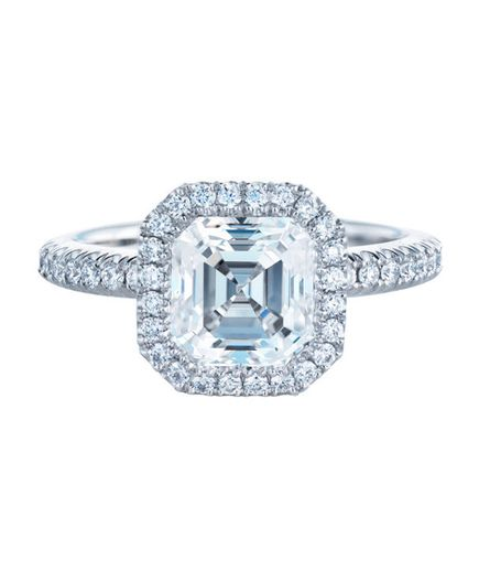 De Beers Aura Solitaire Ring | 71 Unique Engagement Rings | Real Simple
