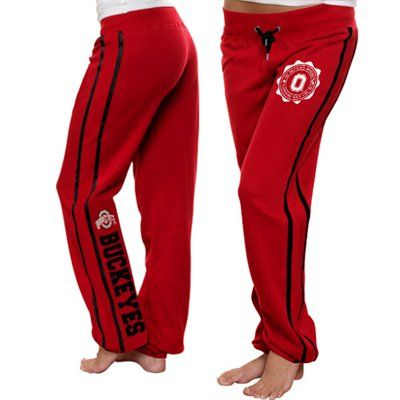 Snap out of those daydreams and tune in to OSU fashion with the School Daze pants! Its distressed, flocked Ohio State badge on the upper left leg and distressed flocked team name and embroidered logo down the back left leg will add the perfect amount of unique flair to your exceptional style. Plus, the contrast team-colored details — including stripes sewn down the sides and snug drawstrings — are sure to reemphasize your top-of-the-line Bucks pride!