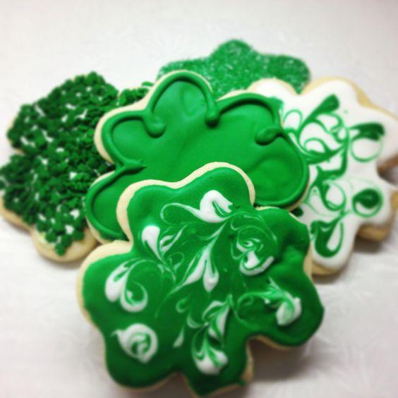 Clover Cookies!