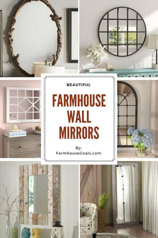 Farmhouse Mirrors Rustic Mirrors Farmhouse Mirrors Rustic