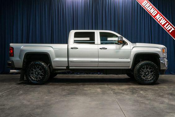 Lifted 2016 Gmc Sierra 2500 Slt 4x4 Lifted Trucks For Sale Trucks For Sale Diesel Trucks For Sale