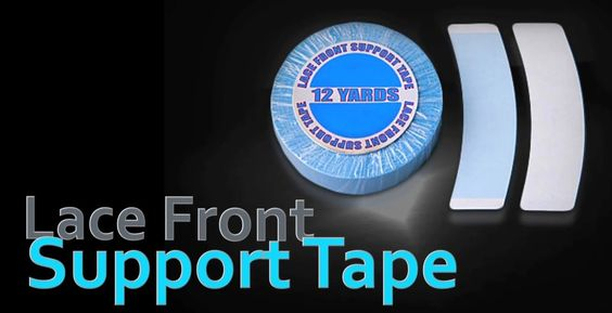 Top seller in the permanent wear line. Is famous for its dull finish. A must have for any salon owner. Depending on the temperature, humidity, and body oils this tape can last up to 3 weeks. Check it out here http://walkertapeco.com/our-products/lace-front-support-tape-blue-liner/ #wig #salon