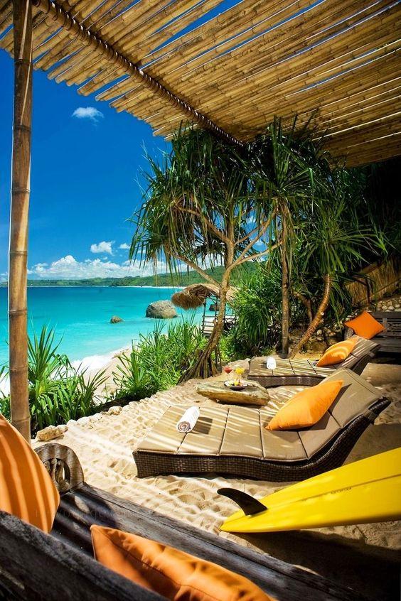 Playa de Nihiwatu, Isla de Sumba, Indonesia