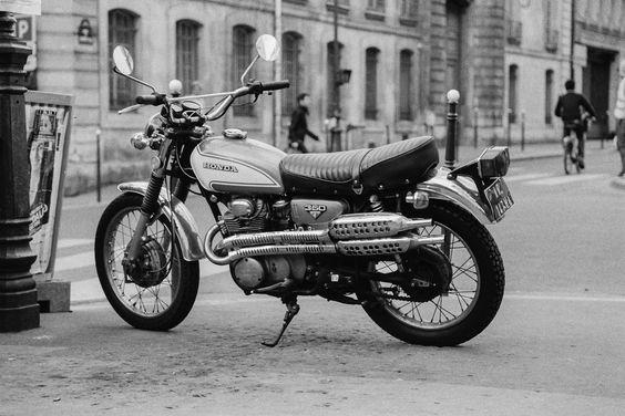 Honda 350, on film | Flickr - Photo Sharing!