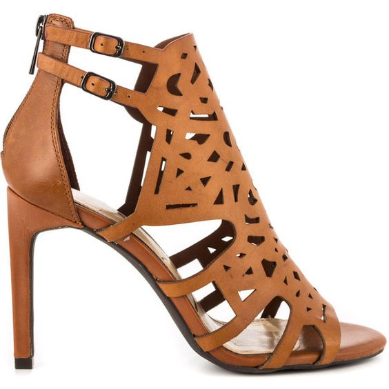 Jessica Simpson Women's Charlote - Lt Lugg Veg Vach (€80) ❤ liked on Polyvore featuring shoes, sandals, brown, ankle strap sandals, jessica simpson sandals, ankle strap shoes, sexy high heel shoes and sexy shoes