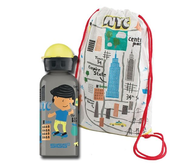 Awesome new travel series of SIGG water bottles for kids