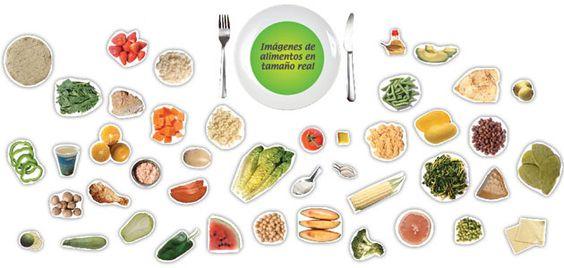 plato del buen comer para armar - Buscar con Google | DIBUJOS