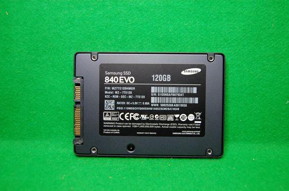 Samsung SSD 840 EVO 120GB, SATA 6Gbs (MZ 7TE120), intern