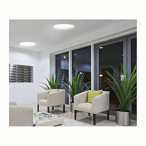 Leroy Merlin - Plafoniera da incasso fisso Como bianco Illuminazione da incasso per soffitto e ...