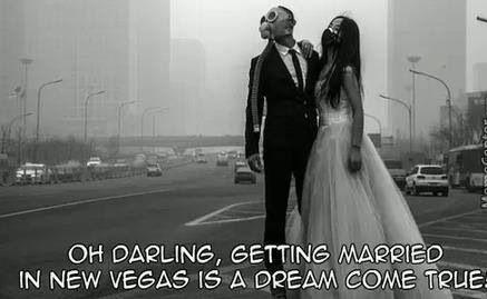Apocalypse wedding