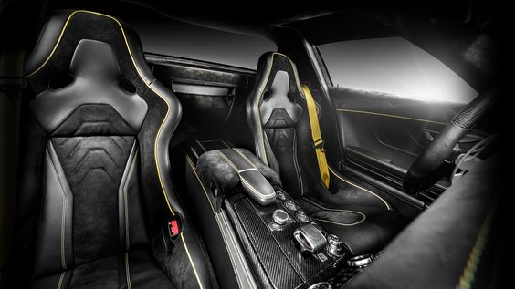 Beautifully re-worked Mercedes SLS AMG interior design work.  http://bit.ly/1wxiEyX