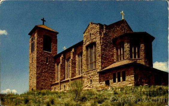 Beautiful St Joseph Apache Mission in Mescalero, NM (15-20 min south of Ruidoso along Hwy 70)