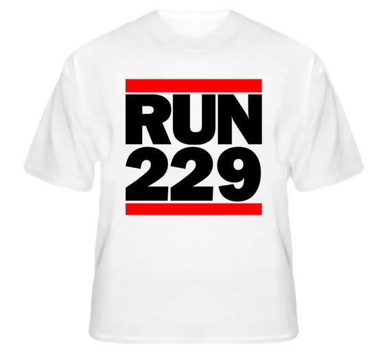 Adel GA Run 229 DMC Inspired T Shirt