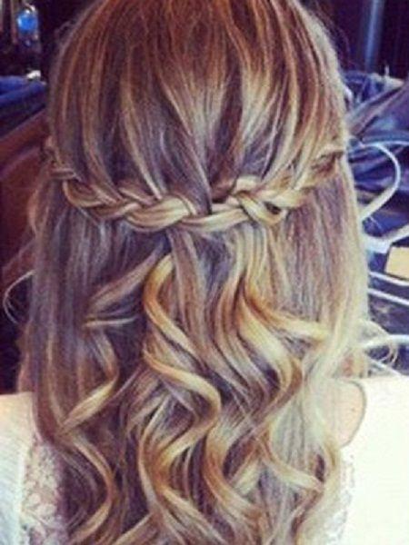 Fine Braids Long Hair Braided Hairstyles And Hairstyle Braid On Pinterest Hairstyles For Women Draintrainus